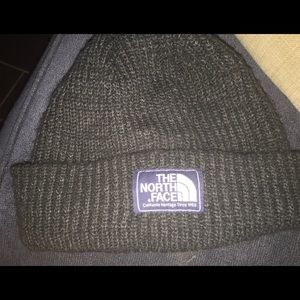 North Face Dark Grey Beanie